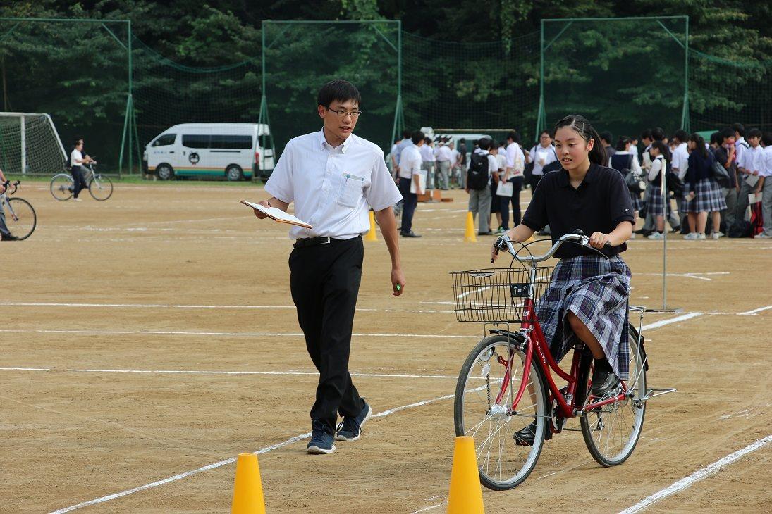 自転車実技試験
